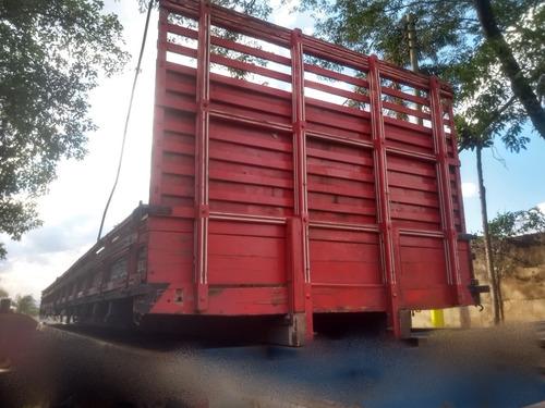 Carroceria Grade Baixa 10 Metros - Carga Seca