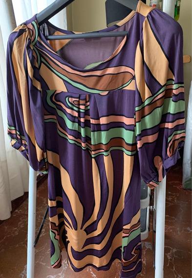 Vestido Corto O Blusa Larga Marca Prego Ecléctica.