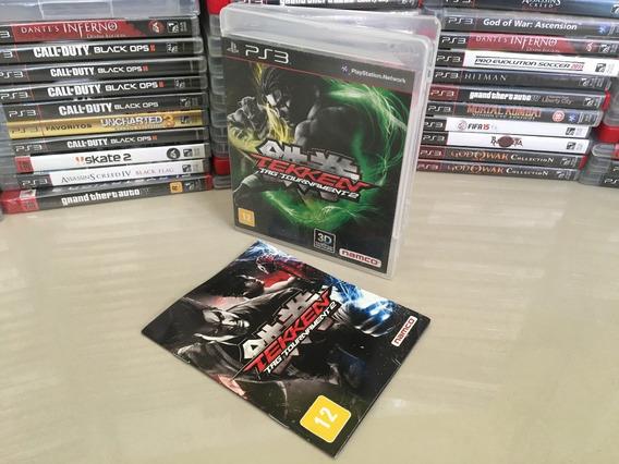Tekken Tag Tournament 2 Ps3 - Original - Semi Novo - Dvd