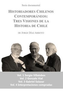 Dvds Serie Historiadores Chilenos Contemporáneos (4 Vol) Set