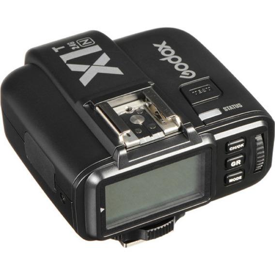 Transmissor Radio Flash Godox Ttl X1t-n Nikon Garantia Novo