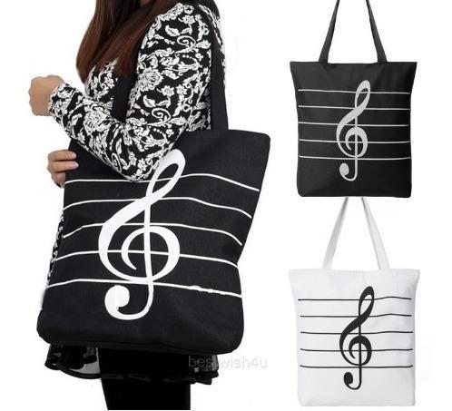Bolsa Com Simbolo Musical - Clave De Sol Linda!
