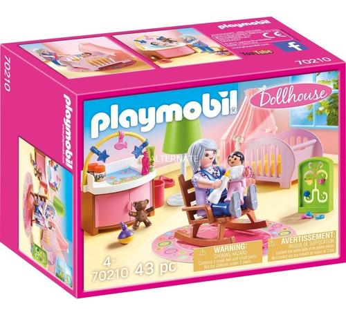 Playmobil Dollhouse 70210 - Guarderia Dormitorio De Bebe