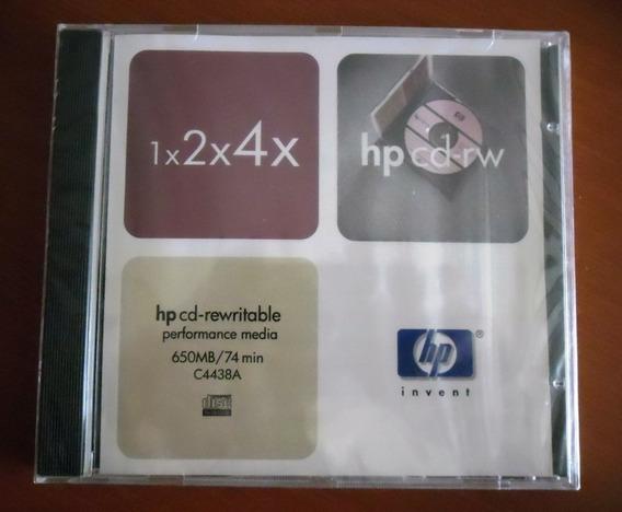Cd Regrabable Hp 1x2x4x 650 Mb 74 Min Reescribible