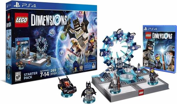 Jogo Lego Dimensions Starter Pack Ps4 Novo Lacrado