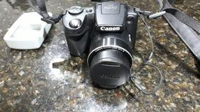 Camera Semi Profissional Canon Sx 510 Hs A Bateria Pouco Uso