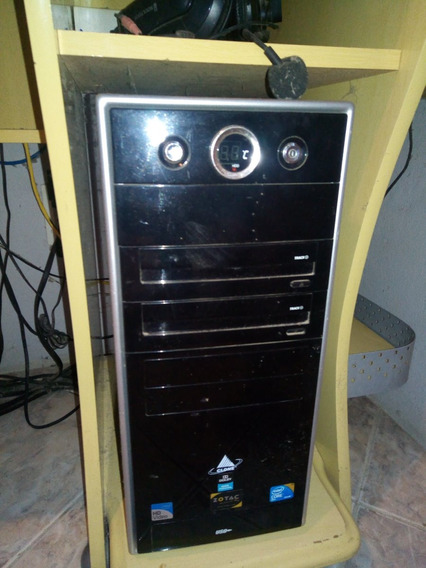 Computador Com Monitor E Acessórios