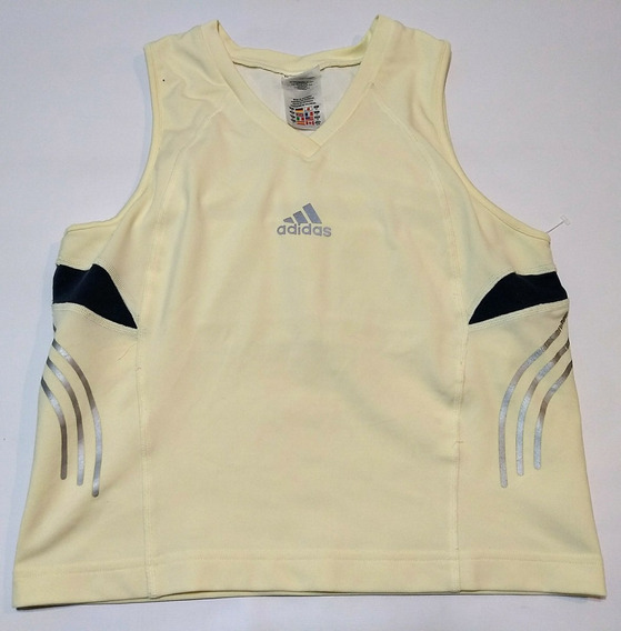 Remera Musculosa adidas Response Talle M Beige Y Reflectiva
