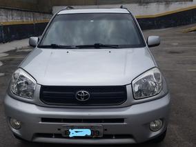 Toyota Rav4 Aut. 4x4 2005 Blindado Prata Couro Estudo Troca