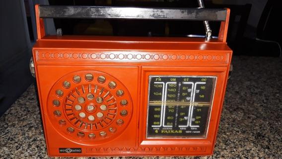 Rádio Portátil Usado Motoradio Modelo 4 Faixas Funcionando P