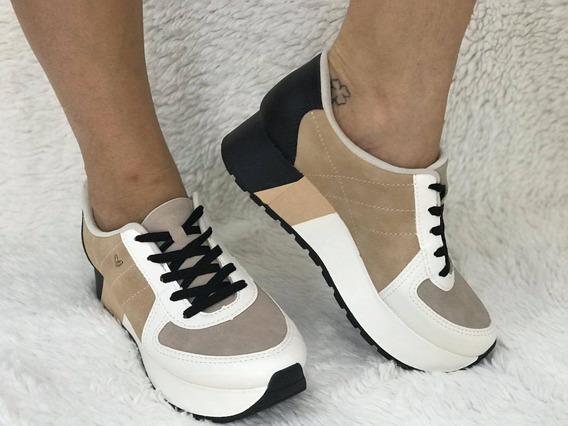 Tênis Feminino Confort Solado Alro Flatform Mississipi