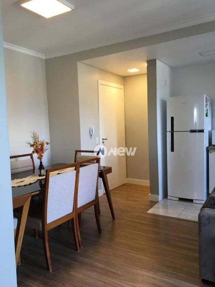 Apartamento Com 2 Dormitórios À Venda, 58 M² Por R$ 218.000,00 - Rincão - Novo Hamburgo/rs - Ap2875