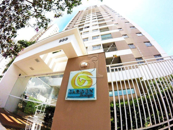 Apartamento Com 2 Dormitórios À Venda, 69 M² Por R$ 350.000,00 - Edifício Garden Ecologic - Londrina/pr - Ap0416