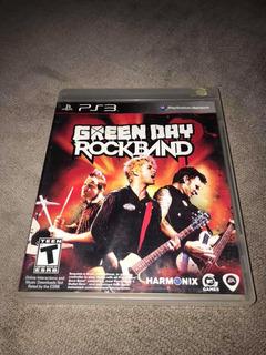 Rock Band Green Day Para Ps3!!!