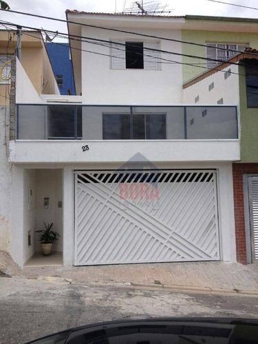 Sobrado Residencial À Venda, Limão, São Paulo. - So0016