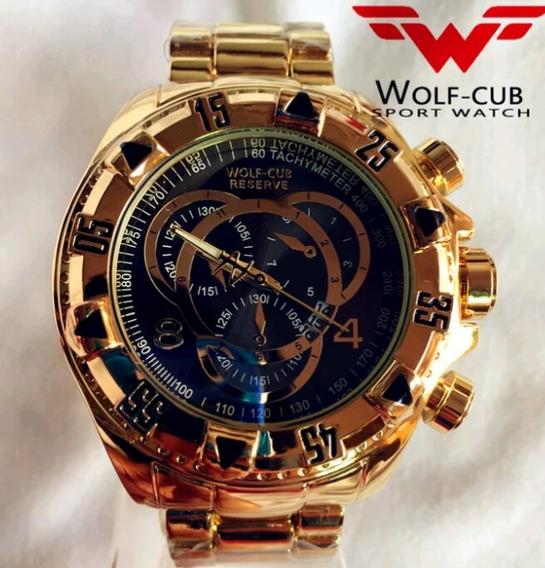 Relógio Wolf Cub Original Com Caixa .