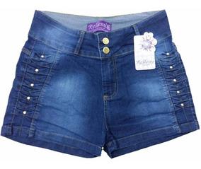 Short Jeans Feminino Plus Size 44\54 Promoção