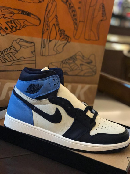 Air Jordan 1 Obsidian Blue Size 42