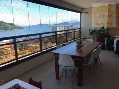 Apartamento Duplex Residencial À Venda, Ponta Da Praia, Santos. - Ad0009