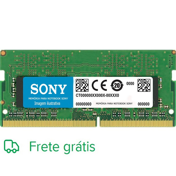 Memória 4gb Ddr3 Notebook Sony Vaio Vpceg13eb/p Mm1uc