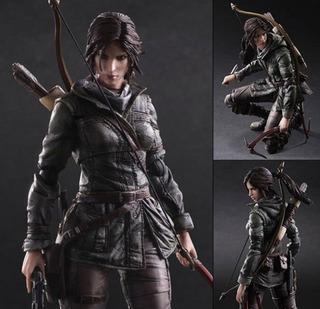 Lara Croft Rise Of The Tomb Raider Play Arts Kai Square Enix