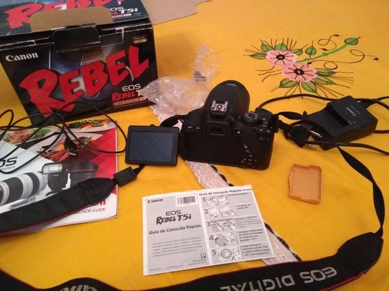 Camera Canon T5i + Lente 18 55 +drone Parrot Bebop 2