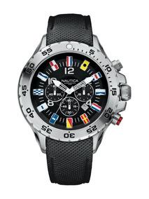 Relógio Nautica Bandeiras A24520g Na Caixa. 100% Original.