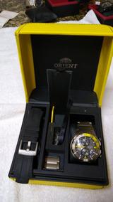 Relógio Masculino Orient Analógico Esport Seatech Titanium
