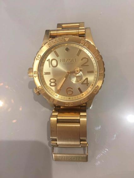 Relógio Nixon Dourado - Original