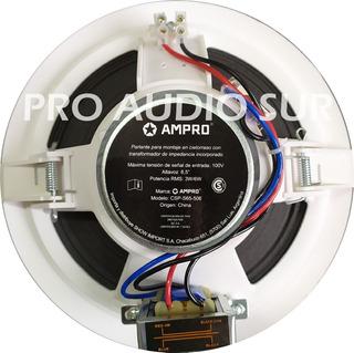 Parlante Techo Dome 6.5 Musica Funcional Linea 100v Ampro