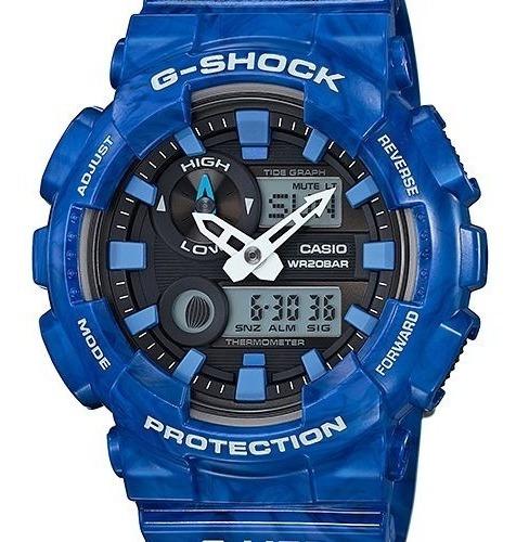 Relógio Casio G-shock G-lide Gax-100a-2adr Azul