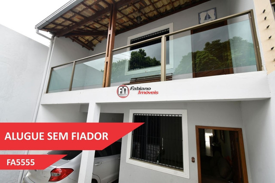 Casa Geminada 03 Quartos Para Alugar, Bairro Planalto, Belo Horizonte - Mg. - 5555