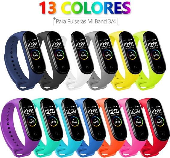 Xiaomi My Band 4 / 3 Set De 13 Correas Multicolor