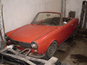 Coupe Fiat 1500 Convertible Año 1969