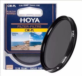 Filtro Polarizador Cpl Hoya 58mm Original Slim Frame