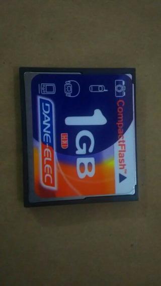 Cartão De Memória Compact Flash Cf Dane-elec 1gb