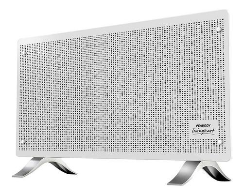 Vitroconvector Minimalista 2000w Peabody Vc20b Blanco