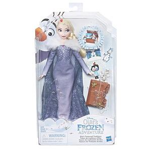 Elsa Frozen / Olaff / 30 Cm / Accesorios