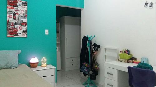 Imagem 1 de 15 de Sobrado Com 3 Dormitórios À Venda Por R$ 630.000 - Vila Valparaíso - Santo André/sp - So0077