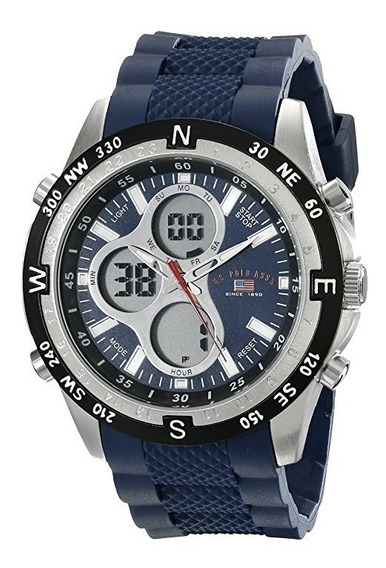 Reloj De Hombre Polo Modelo Azul Marino Casual