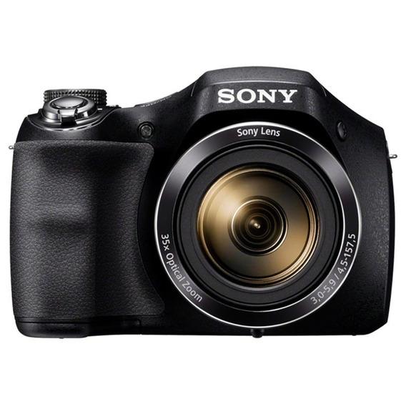 Câmera Sony Cybershot Dsc-h300, 20.1mp, Zoom 35x, Preta