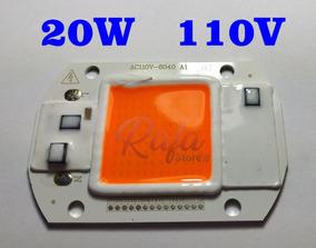Super Power Led Cob 20w 110v Full Spectrum Grow 380-840nm