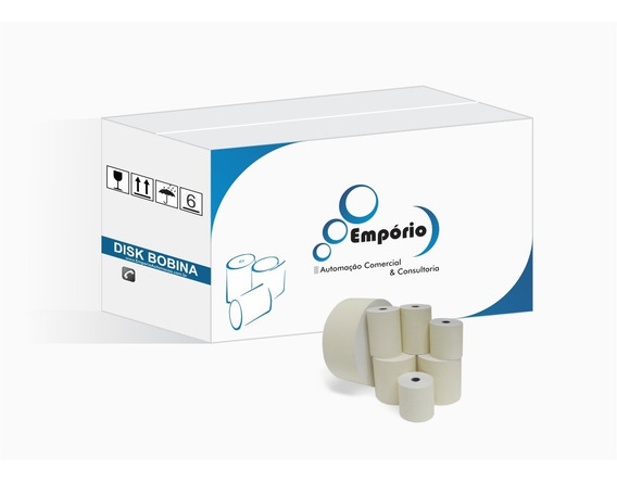 Bobina Térmica 80x40 (ecf/impressora Fiscal/nfc-e/recibos)