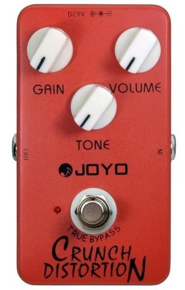 Pedal Joyo Crunch Distortion   Jf-03   Para Guitarra