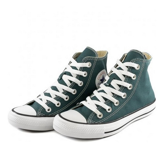 Tenis Converse All Star Ct As Core Hi Verde Unissex