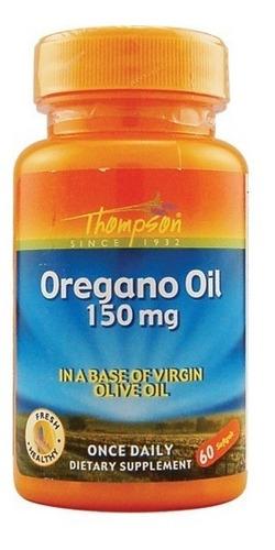 Aceite De Orégano Thompson - 150 Mg - 60 Cápsulas Blandas