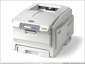 Impressora Laser Okidata Colorida Modelo. C6100n
