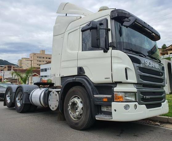 Cavalinho Scania P360 6x2 Ano 2013