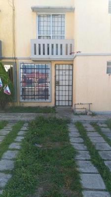 Casa Sola En Cuautitlan A 5 Min. Del Suburbano