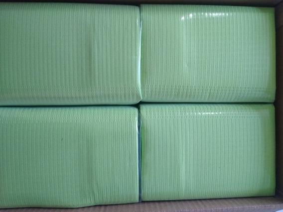 Campo Dental Desechable Color Verde Pq/125 Piezas